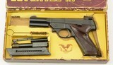 High Standard Supermatic Pistol In Box w/ Barrel Weights - 1 of 23