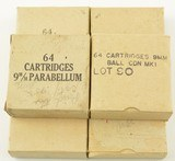 Lot of 6 Boxes of Canadian 9MM Ammo 384 Rounds - 1 of 4