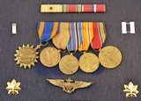 WW2 Jewish Naval Aviator Insignia and Medals Group - 4 of 7