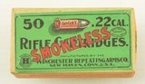 Winchester 22 Short Smokeless Sealed 2nd Issue