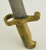 U.S. Navy Plymouth Bayonet Model 1861 By Collins W/ Scabbard - 13 of 23