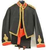 Mess Dress Belonging to Lt. Frank Roff Phillips, Royal Artillery 1900 - 1 of 13