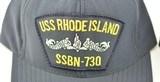 USS Rhode Island SSBN-730 & SSBN-740 Two Original Hats - 2 of 7