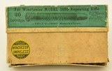 Scarce Winchester 40-72 Metal Patched Smokeless Ammo Box