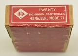 Dominion Cartridge Co Sealed Factory Reference Box 1928 - 2 of 6