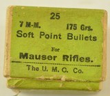 Box of UMC 7mm Soft-Point Bullets - 2 of 5