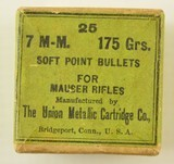 Box of UMC 7mm Soft-Point Bullets