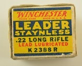 Winchester 22 LR Leader Staynless 1938 Issue Ammo - 3 of 7