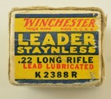 Winchester 22 LR Leader Staynless 1938 Issue Ammo - 5 of 7