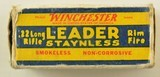 Winchester 22 LR Leader Staynless 1938 Issue Ammo - 2 of 7