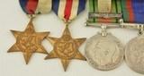 Medal Group Canadian WW2 & Korea - 3 of 15