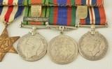 Medal Group Canadian WW2 & Korea - 4 of 15