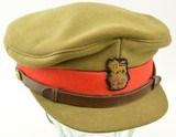 WW2 Canadian Brigadier Staff Officer's Visor Cap - 1 of 7