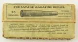 Savage Metal Jacket 303 Cartridge Box