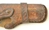 """Brown Leather Holster for 4.5"""" Woodsman or Similar - 3 of 4"""
