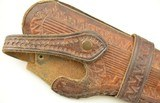 """Brown Leather Holster for 4.5"""" Woodsman or Similar - 2 of 4"""