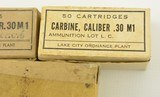3 Boxes of US M1 Carbine Ammo - 3 of 5
