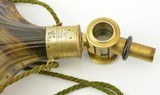 Horn Flask French RW Patent Mid-1800s Excellent - 5 of 10
