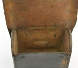Leather Pistol or Cap Box with U.S. Plate - 7 of 9