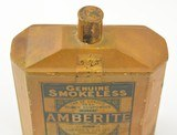 Vintage Curtiss and Harvey English Amberite Powder Tin - 2 of 6