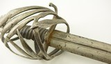 17th Century Venetian Schiavona Sword by Johanni Zuchini - 5 of 15