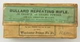 Winchester Ammo Box 38-45 Bullard Cartridges - 1 of 7