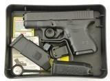 Glock 26 Pistol 9mm in Box