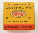 CIL Central V's 22 LR 1937 Second Variation Box - 2 of 7