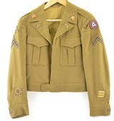 US Army WWII Enlisted man's Ike Jacket - 1 of 15