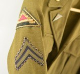 US Army WWII Enlisted man's Ike Jacket - 2 of 15