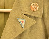 US Army WWII Enlisted man's Ike Jacket - 15 of 15