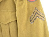 US Army WWII Enlisted man's Ike Jacket - 7 of 15