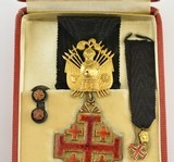 Equestrian Order of the Holy Sepulchre Medal Set (Knight Rank) - 3 of 5