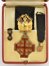 Equestrian Order of the Holy Sepulchre Medal Set (Knight Rank) - 1 of 5