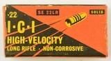 ICI High Velocity 22 LR Ammo