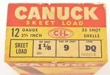 Canuck 1947 Shotshell Box - 2 of 8