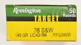 100 Rounds. 38 S&W Target Cartridge - 2 of 3