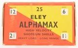Eley Aphamax Empty Shotshell Box - 5 of 6