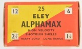 Eley Aphamax Empty Shotshell Box - 3 of 6