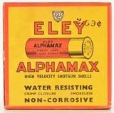 Eley Aphamax Empty Shotshell Box - 1 of 6