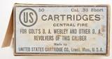 US Cartridge Co. 38 Short CF Colt Webley Callouts - 1 of 7