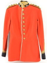 British Army Officer's Full Dress Tunic - 1 of 15