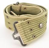 us model 1956 style od green pistol belt
