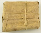 Civil War Confederate 1862 Ammo Packet Musket Cartridges - 3 of 5