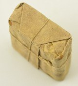 Civil War Confederate 1862 Ammo Packet Musket Cartridges - 4 of 5