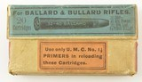 Rare Blue UMC .32-40 Ballard & BullardEmpty Box