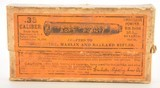 1906 Winchester Full Box of 38-55 Metal Patched Bullets Ammo