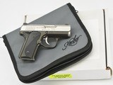 Kimber Solo Carry Pistol 9mm Pistol