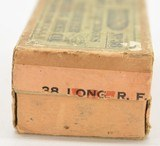 Winchester 38 Long Rim Fire Full Box Partial Seal Ammo - 3 of 6