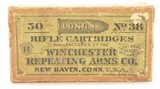 Winchester 38 Long Rim Fire Full Box Partial Seal Ammo - 1 of 6